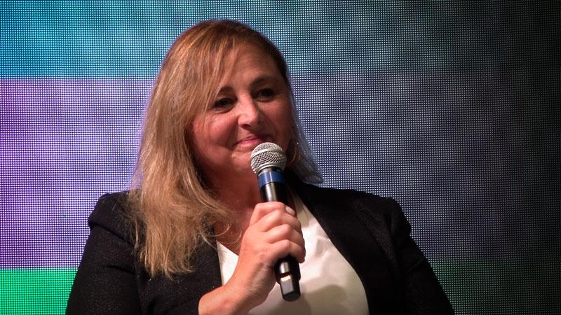 Arq. Graciela Lausero. Presidenta CAd3 Venado Tuerto.