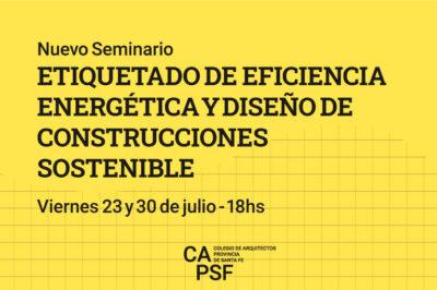 seminario etiquetado energetico capsf